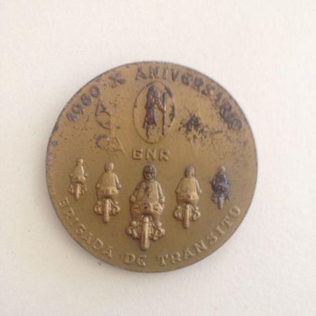 medalha em bronze da GNR