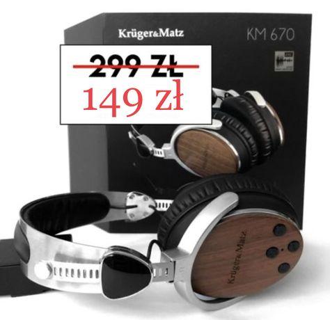 Krüger&Matz - słuchawki nauszne bezprzewodowe - model KM 670