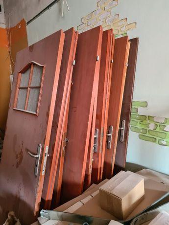 9 sztuk Drzwi wewnętrzne pokojowe tanio
