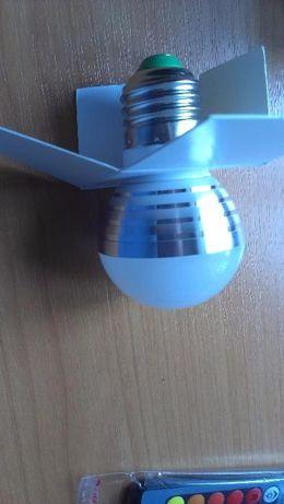 RGB светодиодная Лампа E27 Сид E14 ac85-Сид 265v 5 Вт