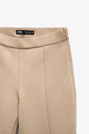 Замшеві брюки Zara
