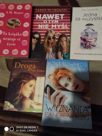 Zestaw 5 książek ciekawe książki dla kobiet