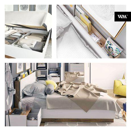 Łóżko sypialniane DENTRO-DT02 - DOSTĘPNE OD RĘKI !