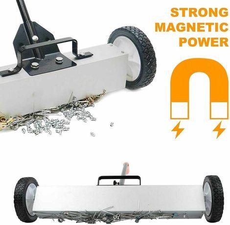 Mobilna miotła magnetyczna  600 mm, magnes neodymowy HIT !