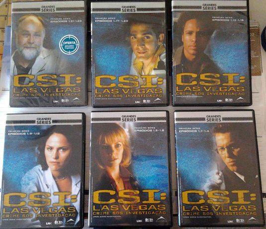 CSI Las Vegas, Crime Sob Investigação, 1ª Série