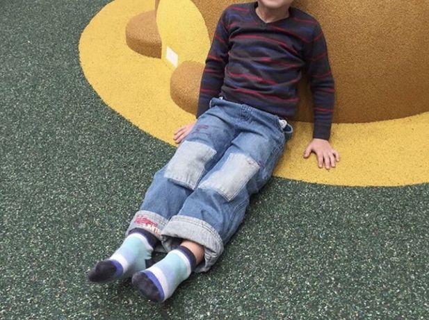 Джемпер для мальчика, серый полоска FF 5 лет 116 см 85 грн