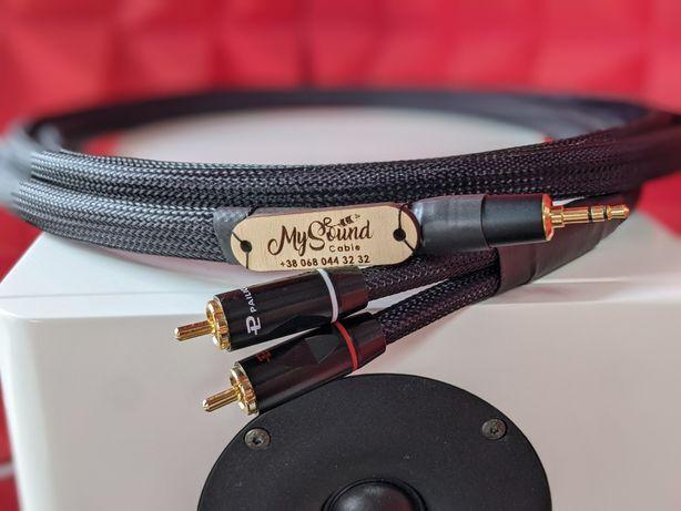Межблочный аудио кабель 3.5 mm-2 RCA My Sound Premium