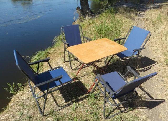 Стол и кресла складные, стулья для пикника, природы, отдыха.
