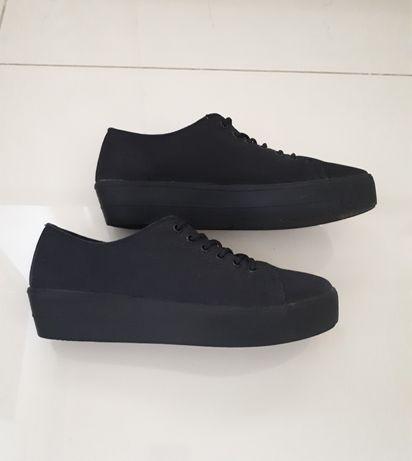 Obniżka! Trampki buty na platformie 41