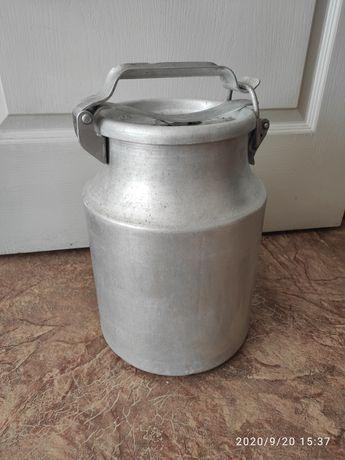 Бидон 10 литров алюминиевый