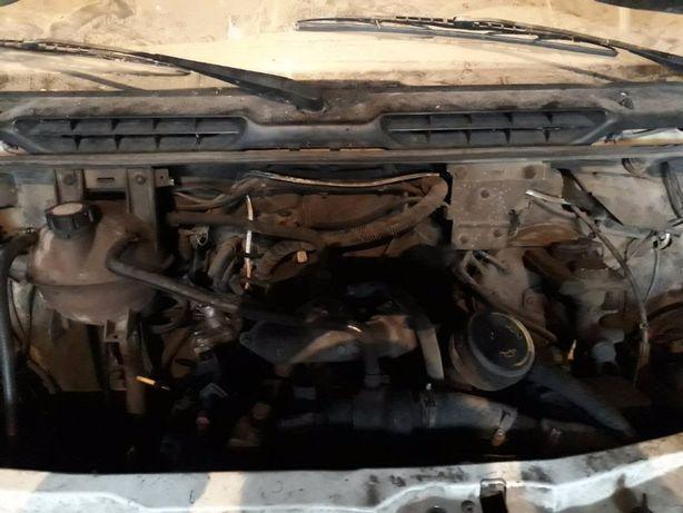 Двигатель (мотор) Ford Transit (коробка, генератор, радиатор)