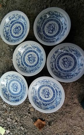 Naczynia talerze filiżanki ikea za 50 zł wszystko