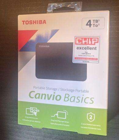 """Внешний HDD 4000 ГБ 4Tb Toshiba HDTB440EK3CA 2,5"""" USB 3.2"""
