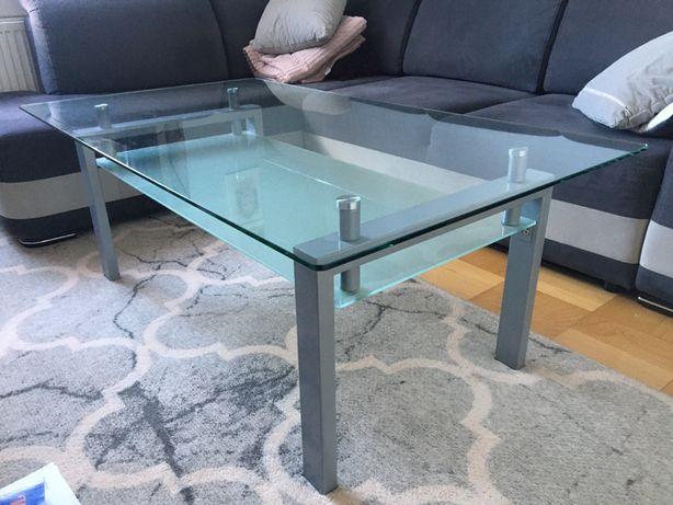 Ława szklana stół