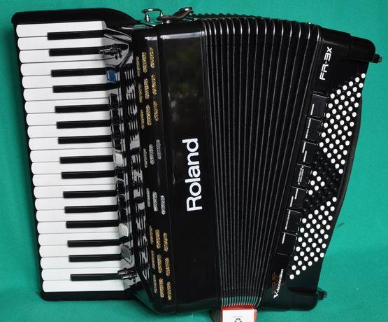 Аккордеон(акордеон) італійський цифровий Roland FR3x-bk.