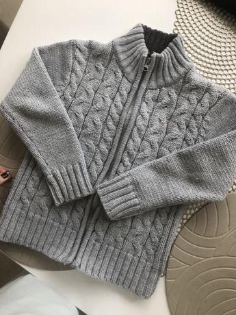 Sweter dla chłopca 116-122 komplet