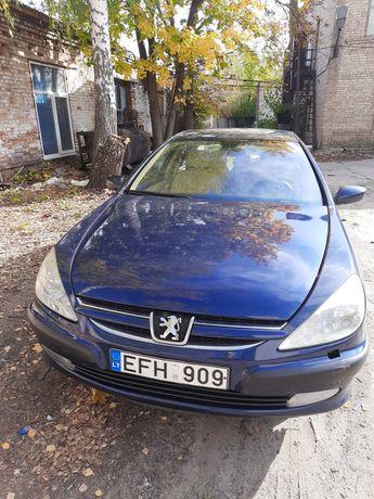 Peugeot 607 евробляха не растаможенное авто пэжо 607 с класса