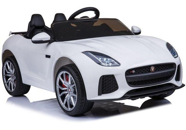 JAGUAR F-TYPE samochód auto na akumulator EVA Skóra Pilot LED