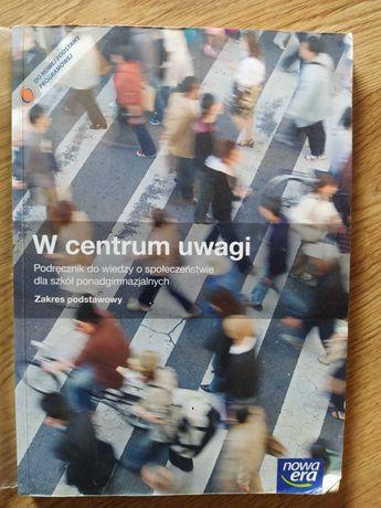 W centrum uwagi.. podręcznik.+ cd.. wyd Nowa Era.. zakres podstawowy..