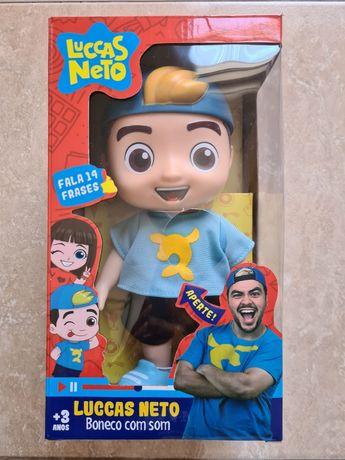 Luccas Neto boneco com som (novo)