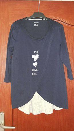 Bluzka ciążowa i do karmienia Esmara r. Re U 40/42 ale jak L lub XL