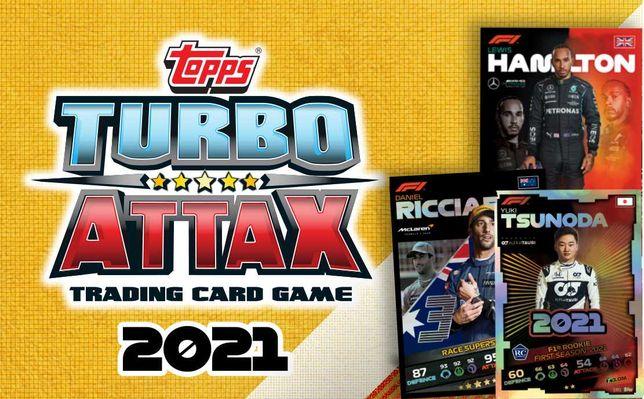 Topps Turbo Attax 2021 - Cartas Formula 1 F1