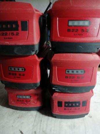 baterie hilti 22v 36v