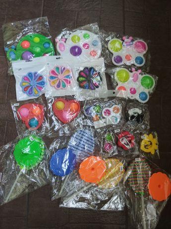Іграшки Pop it, Simple Dimple,поп іт, сімпл дімпл, дерево, антистрес