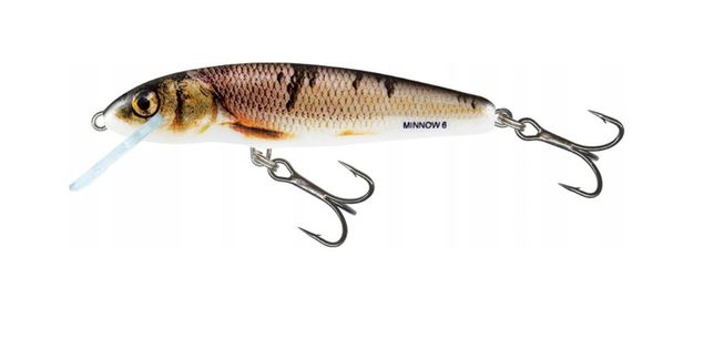 Wobler Salmo Minnow 5cm 5g tonący kolor wounded dace