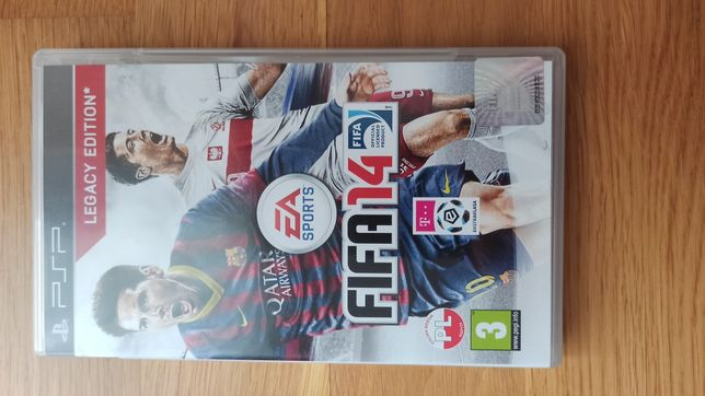 Gra PSP Fifa 14 Legacy Edition