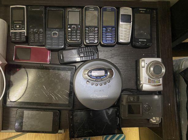Лот телефоны планшет фотопараты