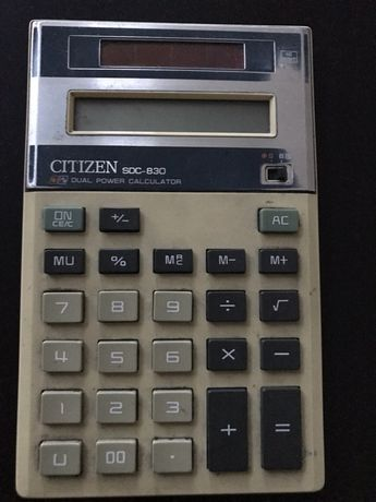 Retro kalkulator Citizen SDC-830