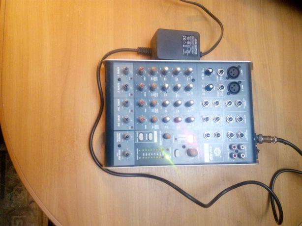 Микшерный пульт Show XM-6D с ревером процессор эффектов мікшерний