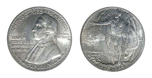 Монета 50 Центов США 1928 Hawaiian Half Dollar (Копия)