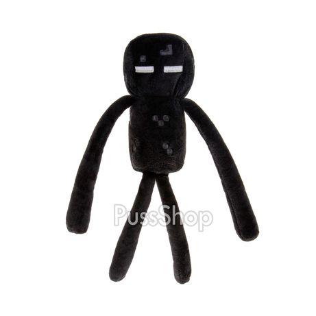 Мягкая игрушка герой Plush Эндермен 25 см Minecraft (Ендермен)
