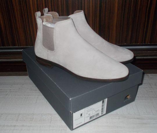 ECCO rozmiar 40 buty botki sztyblety NOWE