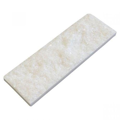 Płytka marmur Crystal White 30x10x1,5 cm Elewacja Dekoracja Ściana