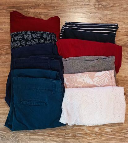 Zestaw damskich ubrań r. XL 42 duża paczka