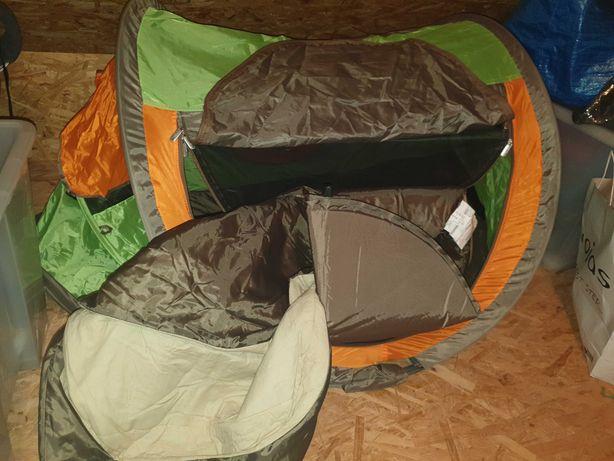 Łózeczko turystyczne, namiot,