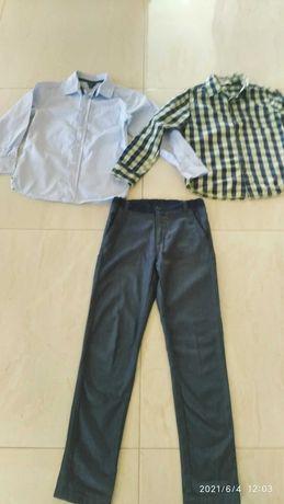 Strój wizytowy-galowy- koszule Reserved , 5 10 15 i spodnie