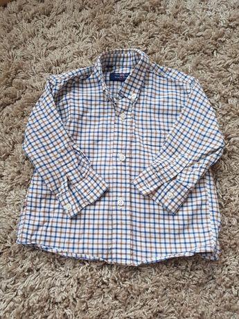 Рубашка на мальчика, 18 мес., 1.5 года, 86 см.