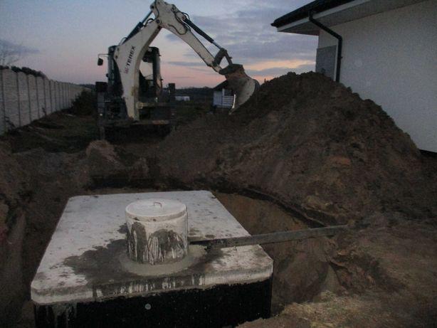 Szamba piwniczka deszczówka zbiornik producent gwarancja dowóz montaż