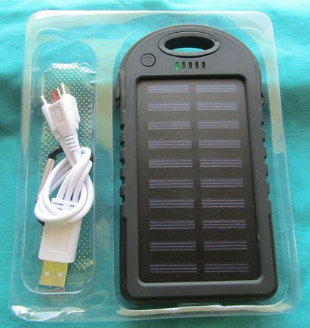 Carregador Solar Novo. 2 USB