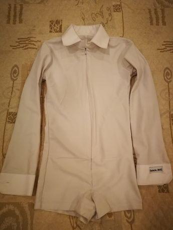 Рубашка для бальных, рост 140-150