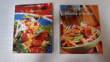 Zestaw: Dania z woka + Kuchnia włoska - seria: z Kuchennej półeczki