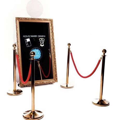 Fotobudka lustro, fotolustro, fotobudka, ciężki dym, bańki, bus
