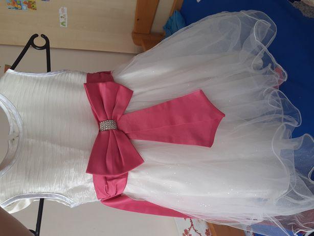 Suknia elegancka wyjsciowa sukienka rozm 110