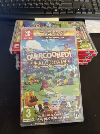 OverCooked All You Can Eat Nintendo Switch Nowa
