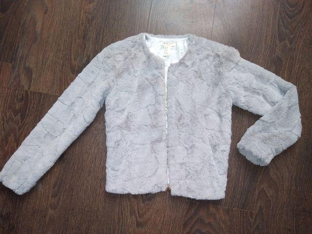 Плюшева шубка шуба балеро накидка хутро куртка кофта пиджак