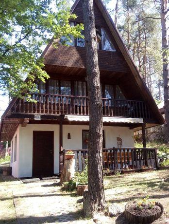 Domek na Mazurach nad jeziorem 50 m do jeziora nocleg jezioro Kalwa #7